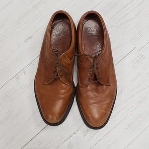 Men's Cognac Leather Sperry Oxford